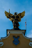 Monument to Archangel Michael Royalty Free Stock Photos