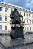 Monument to the architect Trezzini. St. Petersburg, a monument to the architect Domenico Trezzini, Trezzini area Stock Images