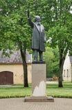 Monument to Atis Kronvalds. Latvia Stock Image