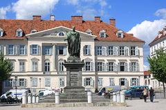 A monument to the Austrian Emperor Francis I of the May 14, 2013 in Graz, Austria. Graz - the capital of Styria Stock Image