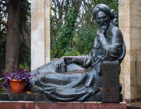 Monument to Avicenna in the territory of the sanatorium `Crimea` in Partenit city, Crimea Royalty Free Stock Images