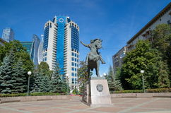 The Monument to Bagration, Moscow, Russia Royalty Free Stock Image