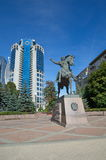 The Monument to Bagration, Moscow, Russia Stock Image