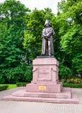 Monument to Barclay de Tolly, Riga, Latvia stock images