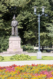 Monument to Barclay-de-Tolly in Riga. Stock Images