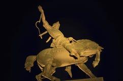 Horseman Monument Stock Photography