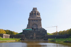 Monument to the Battle of the Nations - Leipzig, G Royalty Free Stock Photo