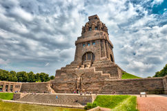 Monument to the Battle of the Nations, Leipzig, Germany.  stock image