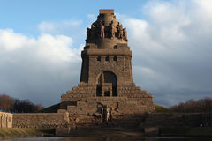 Monument to the Battle of the Nations in Leipzig, Saxony, German Stock Image