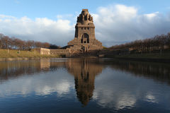 Monument to the Battle of the Nations in Leipzig, Saxony, German Stock Images
