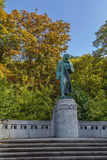Monument to Beethoven, Karlovy Vary Stock Images