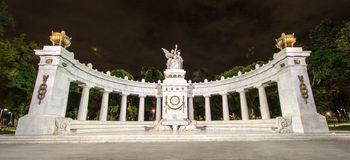 Monument to Benito Juarez in Mexico City Royalty Free Stock Photos