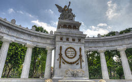 Monument to Benito Juarez in Mexico City Royalty Free Stock Images