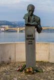 Monument to Bibo Istvan Stock Photos