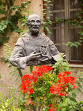 Monument to Blessed Charles de Foucauld Eugene (1858 -1916) near Royalty Free Stock Photo