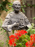 Monument to Blessed Charles de Foucauld Eugene (1858 -1916) near Stock Images