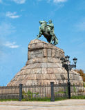 The monument to Bogdan Khmelnitsky Royalty Free Stock Photos