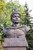 Monument to Bogdan Khmelnitsky. Belgorod. Russia Royalty Free Stock Photography
