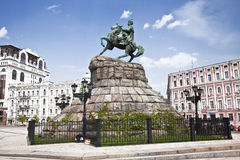 Monument to Bogdan Khmelnitsky. Kiev Royalty Free Stock Image