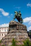 Monument to Bogdan Khmelnitsky. Onument to Bogdan Khmelnitsky on St. Michael`s Square in Kiev Royalty Free Stock Images