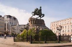 Monument to Bogdan Khmelnitsky, Ukrane, Kiev Royalty Free Stock Images