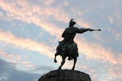 Monument to Bogdan Khmelnytsky in Kyiv, Ukraine Royalty Free Stock Image