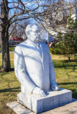 Monument to Brezhnev. Park of arts `Museon`. Moscow, Royalty Free Stock Images