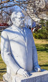 Monument to Brezhnev. Park of arts `Museon`. Moscow, Stock Photos