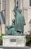 Monument to brothers Olaus and Laurentius Petri in Orebro Stock Images