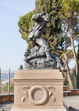 Monument to Cairoli brothers Rome Italy Royalty Free Stock Photos