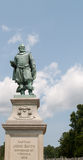 Monument to Captain John Smith in Jamestown, VA Stock Photos