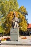 Monument to cardinal Stefan Wyszynski, Warsaw, Poland Stock Image