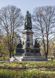 Monument to Carl Linnaeus Stock Photos