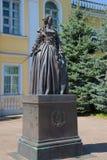 Monument to Catherine the great. Novorzhev, Pskov region, Russia Stock Photography