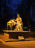 Monument to  Catherine II (Catherine Great) in Podolsk. Russia Stock Photography