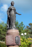 Monument to Catherine II in Sevastopol Royalty Free Stock Image