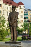 Monument to Charles de Gaulle in Astana Royalty Free Stock Image