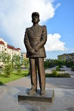 Monument to Charles de Gaulle in Astana Stock Image