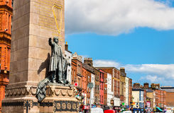 Monument to Charles Stewart Parnell Royalty Free Stock Photography