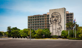 Monument to Che Guevara Revolution Royalty Free Stock Image