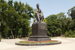 Monument to Chekhov A.P. Stock Photography