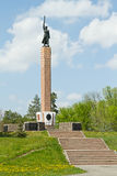 Monument to the chekists defended Stalingrad Royalty Free Stock Photo