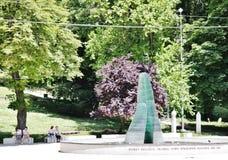 Monument to the children of Sarajevo Stock Photos