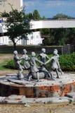Monument to children in Volgograd Stock Photography