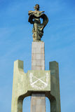 Monument to Chilean Carabineers Royalty Free Stock Photography