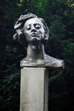 Monument to Chopin in Kaliningrad Royalty Free Stock Photography