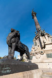 Monument to Christopher Columbus - Barcelona Stock Photos