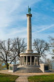 Monument to Civil War soldiers near Chattanooga, Tennessee Stock Image
