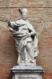 Monument to Clement XI in Urbino Stock Photos