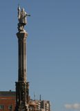 Monument to Columb in Madrid. Spain Royalty Free Stock Images